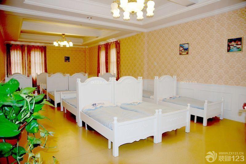 最新欧式风格幼儿园床装修案例欣赏