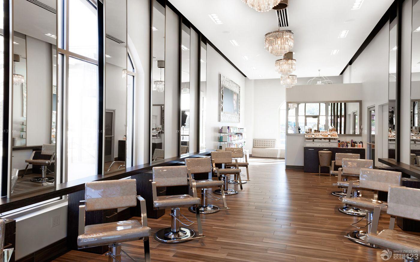 60平方美发店装修风格分享展示
