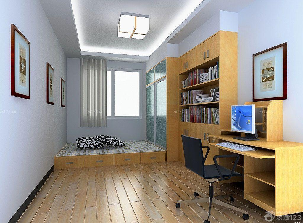 装修效果图 家居设计 现代日式房间小书房装修效果图片大全
