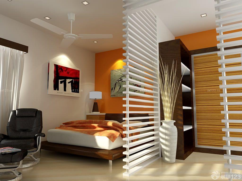 80平米房子卧室隔断设计装修图片