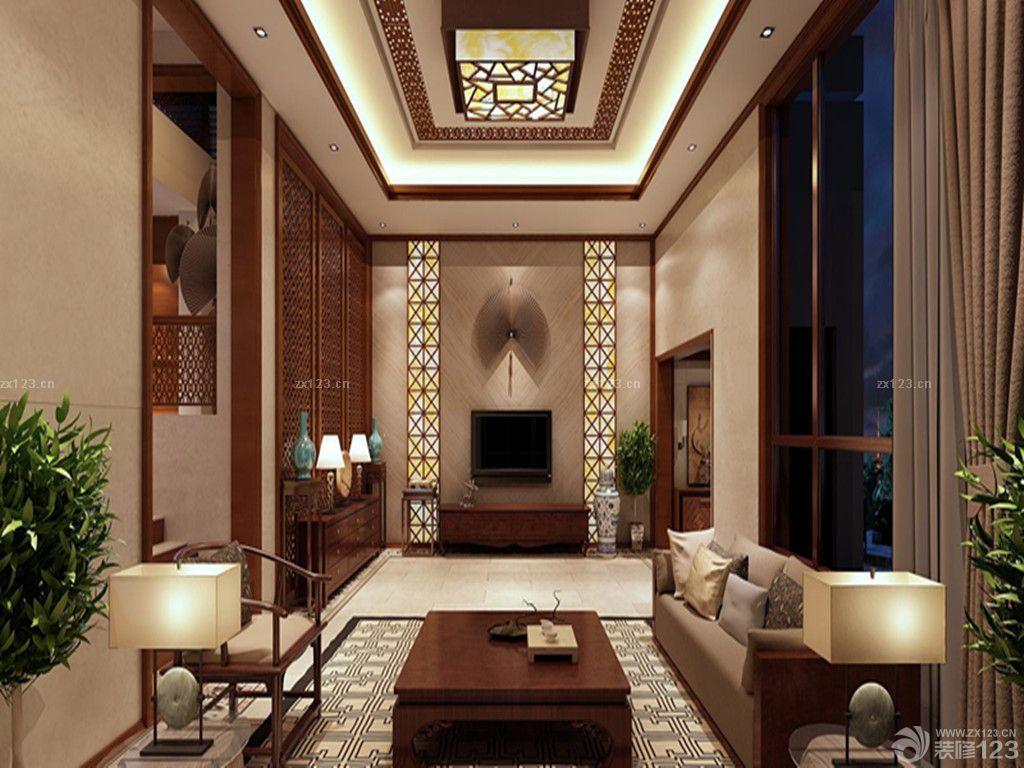 我的世界别墅挑高客厅装修效果图片