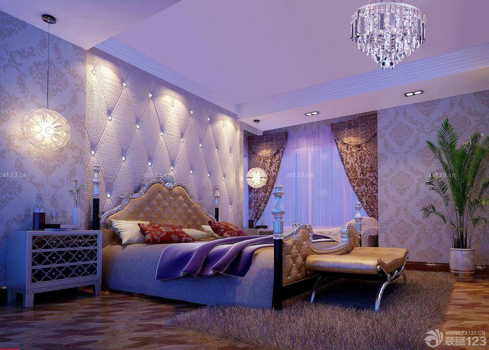 欧式老旧房子大卧室装修效果图欣赏