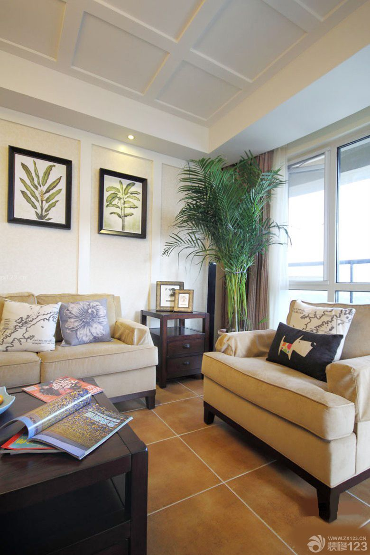 最新80平米房子二室一厅客厅装修图片