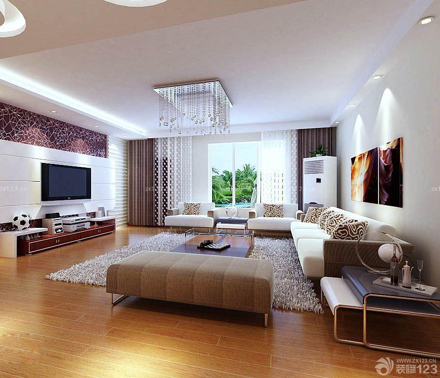 90平房屋现代装修风格图片