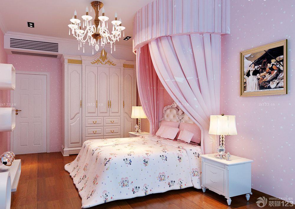 经济型别墅女生卧室装修效果图片大全