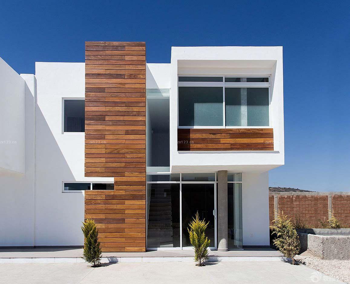农村三层现代别墅外观设计图片欣赏图片