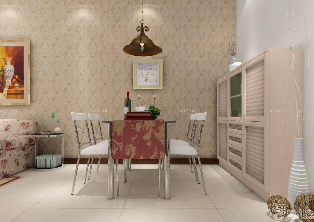 2015北欧小户型客厅装修壁纸效果图欣赏