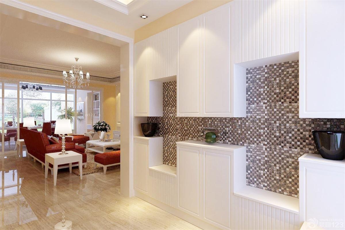 装修效果图 家居设计 最新农村自建房别墅外观墙面瓷砖效果图欣赏