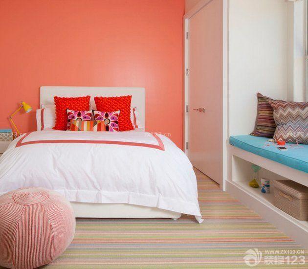90后女生臥室設計地毯裝修效果圖片大全2015
