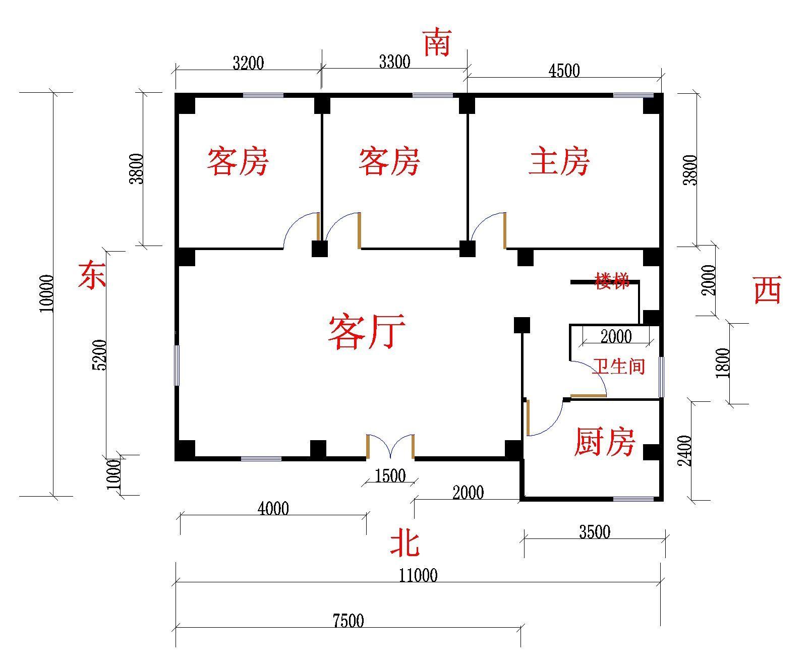 海外房屋平面设计图展示