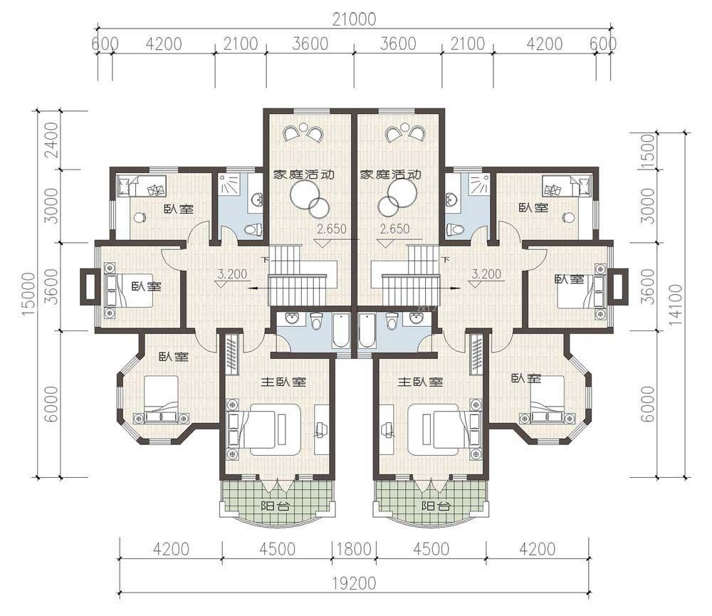 设计理念:              平面设计图 别墅平面设计图 房屋平面设计图