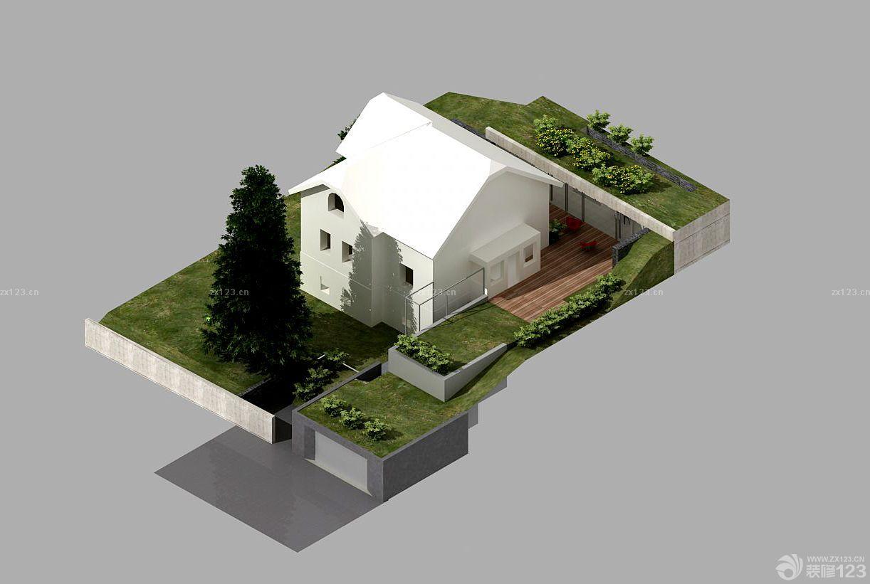 2015最新农村小型别墅绿化装修设计图欣赏