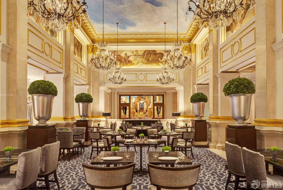 豪华古典欧式风格高档酒吧装修