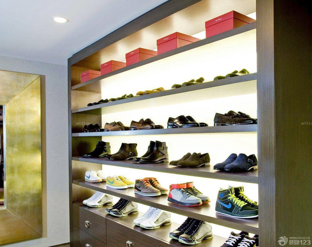 运动鞋店室内装修效果图